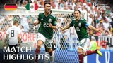 Germany 0-1 Mexico - 2018 FIFA World Cup Russia