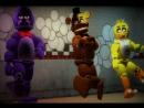 Джорон. Аниматроники танцуют Five Nights At Freddys 1