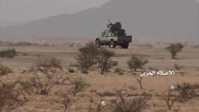 Хуситы отражают атаку хадистов в районе Сабрин, Джауф.
