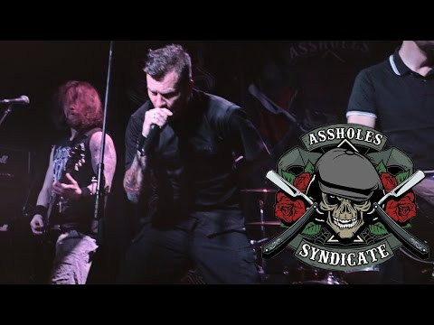 Assholes Syndicate - Drink, Fight, Fuck! (live@zoccolo2 St.Petersburg. 2015.12.04)