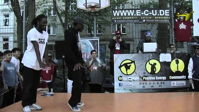 Elbcoast Hip Hop 2013 Finals MarcSoul FrankyDee vs. UKay TheK
