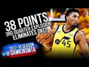 Donovan Mitchell ELiMINATES OKC | 2018 WCR1 Game 6 Utah Jazz vs Thunder - 38 Pts! | FreeDawkins
