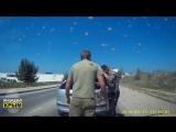 Неадекваты на дорогах Крыма!