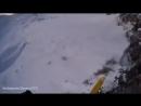 Американский лыжник чудом выжил после падения с крутого обрыва