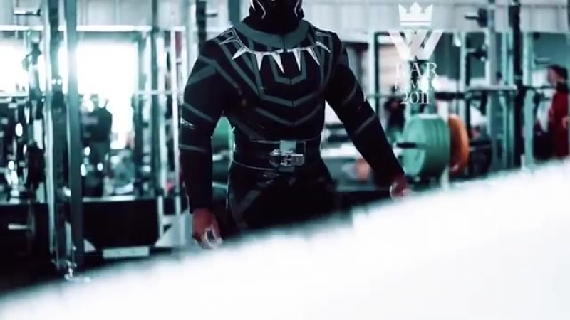 SUPERHEROES in the GYM (Kratos, Black Panther, Deadpool)