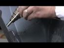Сварка бампера пластмассовыми электродами