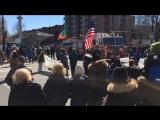 Ирландская музыка на параде Св Патрика