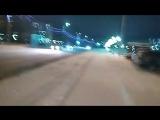 Новогодний мотопробег в Нефтеюганске.(Он-лайн включение)