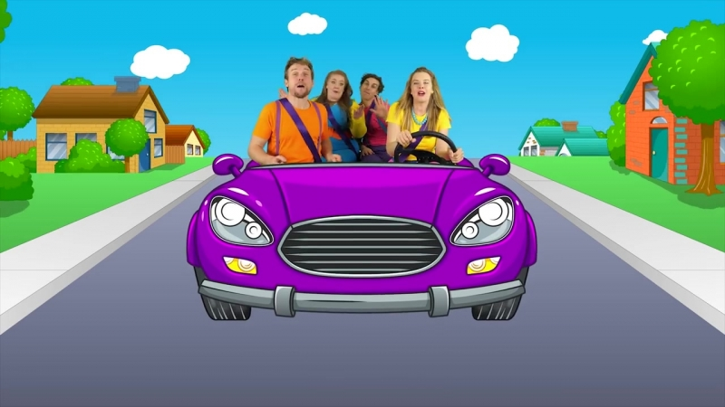 Lets Drive - Driving In My Car Song Nursery Rhymes and Songs for Children