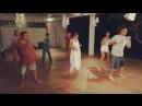Танцы в Bondalem Beach Club в рамках фитнес-тура с Синьковыми