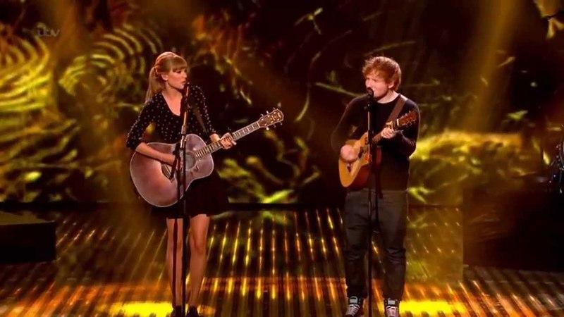 Taylor Swift Ed Sheeran Everything Has Changed live on BGT HD