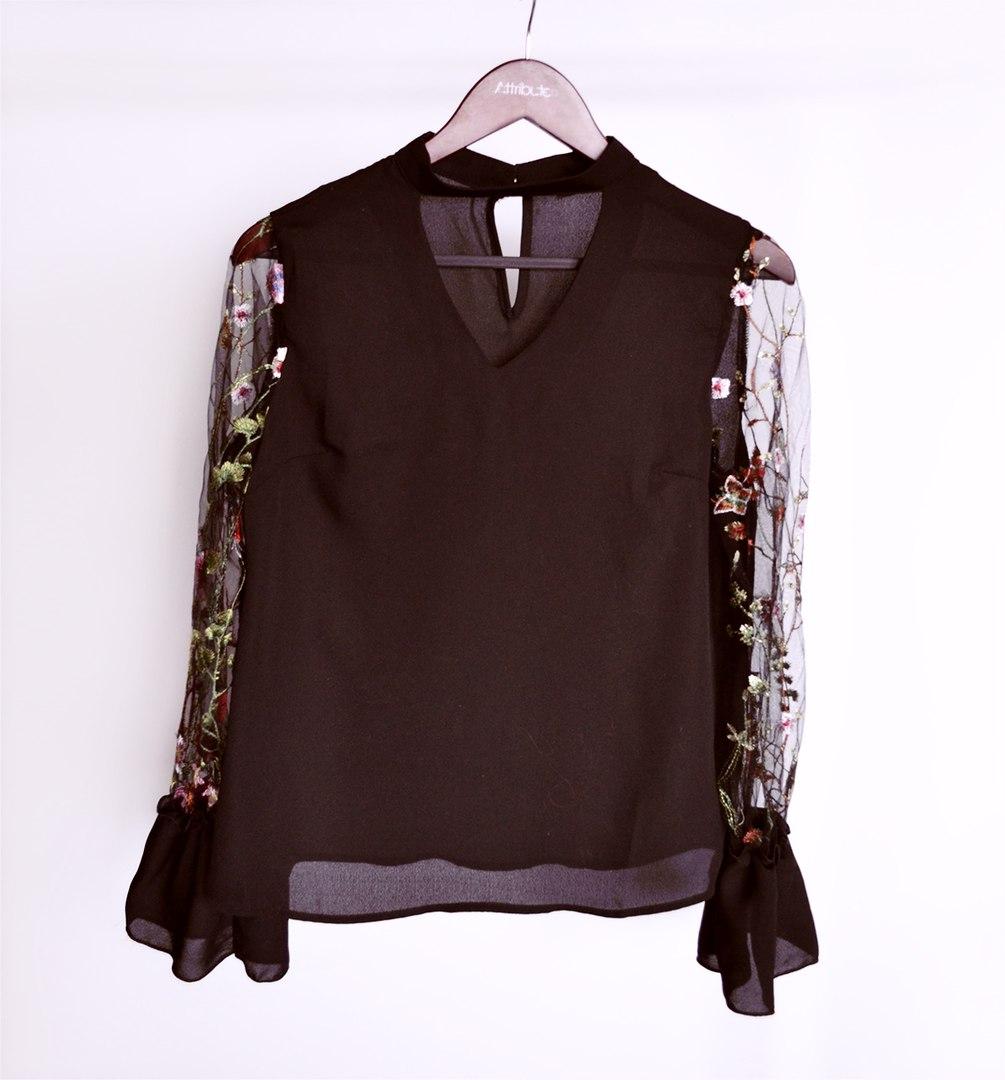 Популярная шифоновая блуза SHEIN