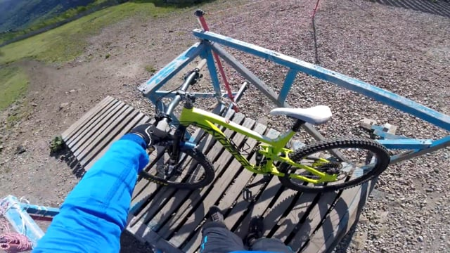 Norco Sight on DH track