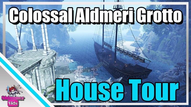 ESO: Colossal Aldmeri Grotto - House Tour