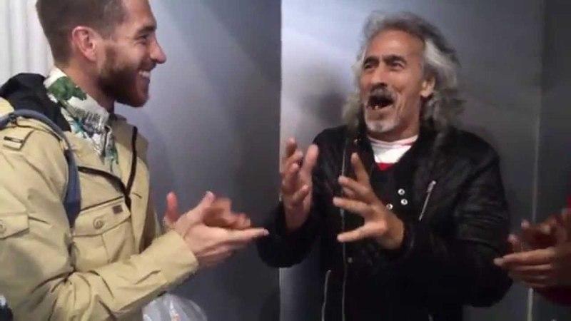 Capullo de Jerez y Sergio Ramos, el himno del Madrid!