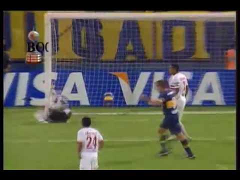 Primera Fase - Boca 3 - Toluca 0 - Libertadores 2007