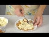 Закусочный Торт-Салат из Крекеров за 10 минут - ГОТОВИМ ДОМА с Оксаной Пашко