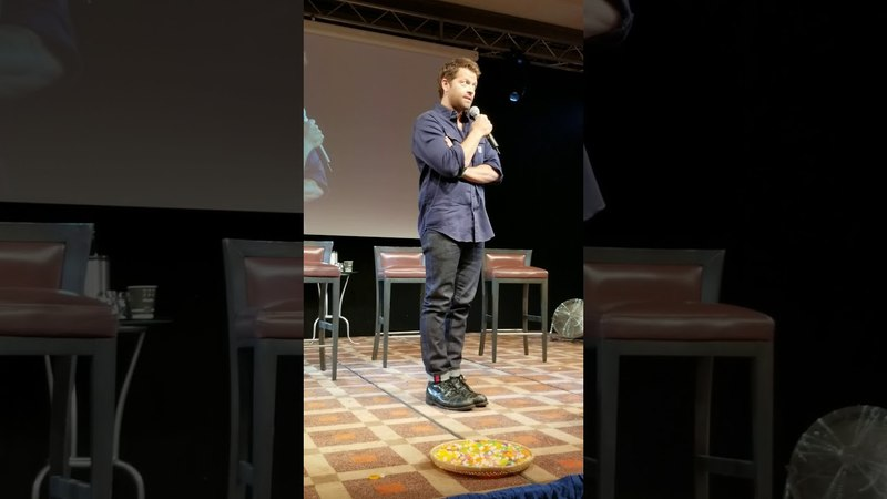 JIB9 2018 Misha Collins 1st Saturday Panel Part 2