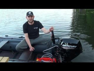 Лодочный мотор Mercury F15/20 EFI видео обзор часть №1