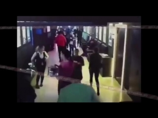 Видео с камер кинотеатра в «Зимней вишне