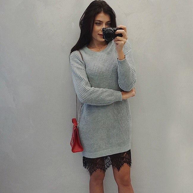 Вязаное платье Цена 2468 Да дороговато
