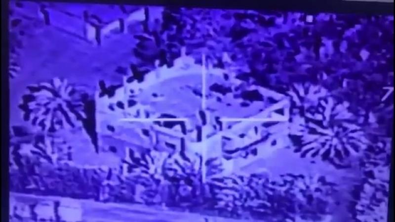 В ночь на 25 мая F-16 ВВС Ирака нанёс удар по указанному зданию в посёлке Хаджин.
