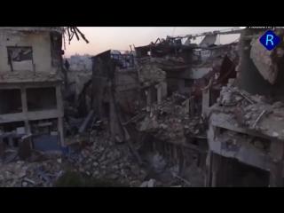 Российско-фашистские пропагандисты рассуждают как превратят города Украины в выжженный русским миром Алеппо.