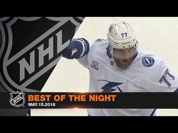 Kucherovs pass to Hedman, Vasilevskiys improbable stop