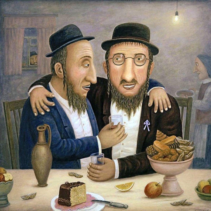 Открытка еврейский день рождения, открытка годиком