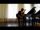 09 Храмов Иван И С Бах Бурре из партиты № 1 для скрипки соло си минор