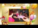 Поздравляю тебя братишка с днем рождения - слайд шоу на заказ.mp4