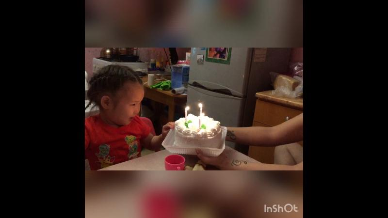 День рождение дочки!