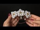 15 Handmade Hair Comb for Attaching Bridal Veil. DIY Tutorial English Subs