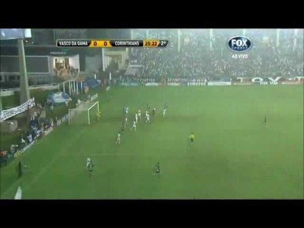 Vasco 0 X 0 Corinthians Gol Anulado Copa Libertadores 16052012