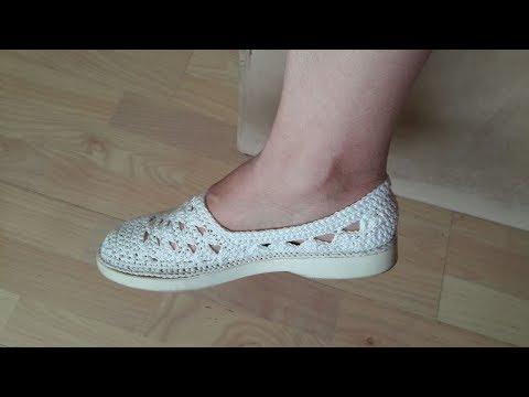 Yelpazeli Beyaz Ayakkabı (Eskiyen Ayakkabıyı Yenileme) Part I