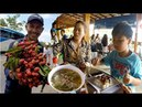 Breakfast at Seven Stars Restaurant | Buy Jungle Fruits on The Way to Krong Koh Kong