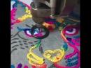 Можно смотреть вечно на машинную вышивку