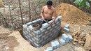 Primitive Technology Tank from Brick part 1 Primitive life wilderness