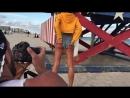 BTS Shooting Miami beach with Johanna Da Ru iPhone