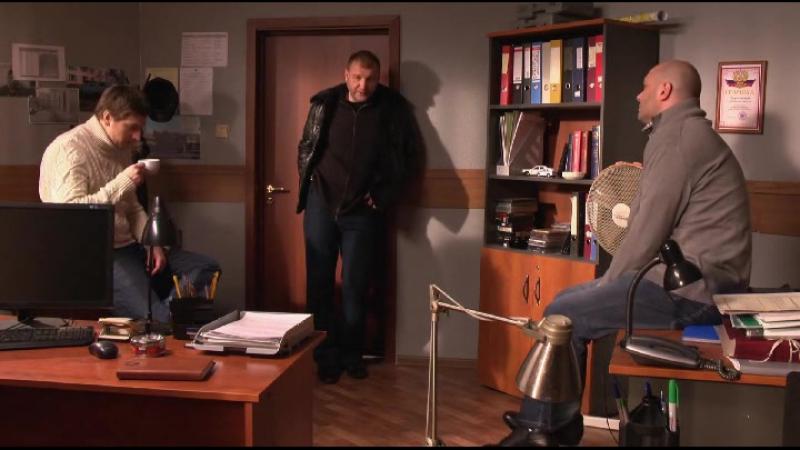 Ментовские войны 7 сезон 2013 год 5 серия Шилов Джексон Арнаутов Утро