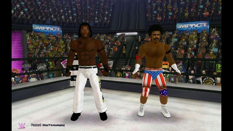 R-Truth и Ксавьер Вудс против Криса Мастерса и Иезекииля Джексона