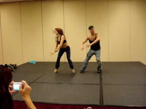 Taller Adrián y Anita Lyons Freestyle Festival Salsa Lanzarote