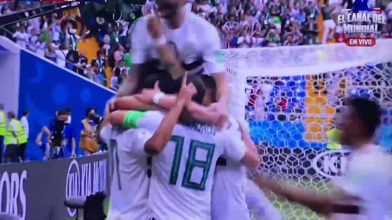 Gol de Vela - México 1-0 Corea del Sur