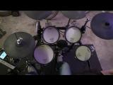 Roland TD9 kx2 Electronic Drum Cover m83 - Oblivion