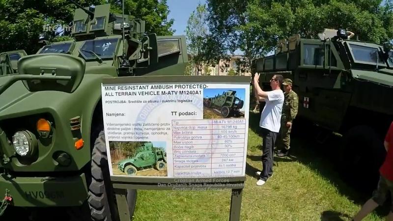 Oshkosh M-ATV M1240A1(DanOSRH, Zagreb-Jarun 28.05.2016.)
