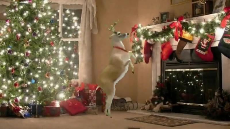 Новогодний танец оленей- Бубенцы бубенцы радостно галдят