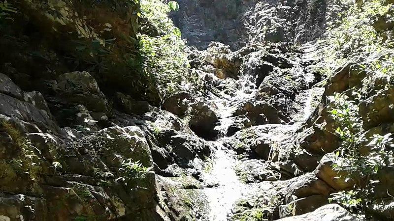 Malaysia Langkawi waterfall Temurun 14 feb 2018