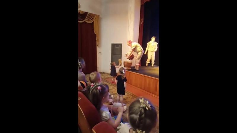 Интерактивный спектакль в кукольном театре