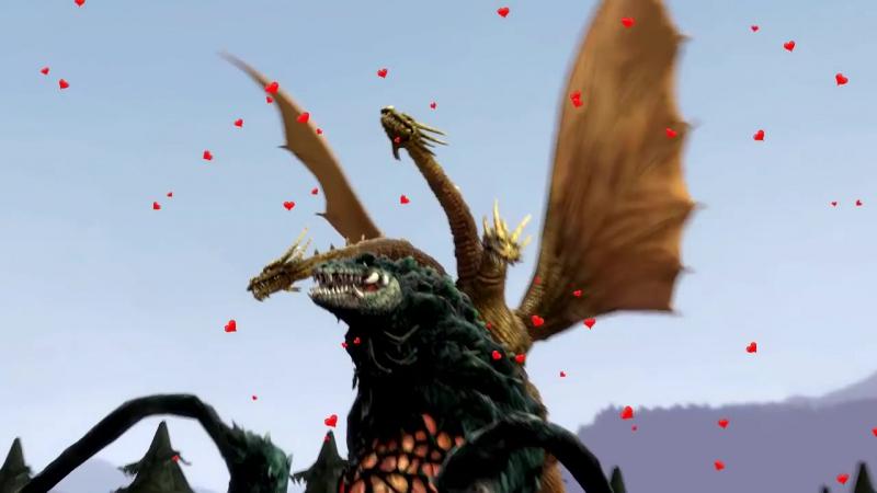 [SFM] Fun with new Godzilla models