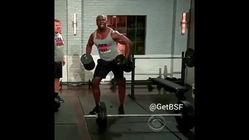 Терри Крюс - гора мышц и позитива